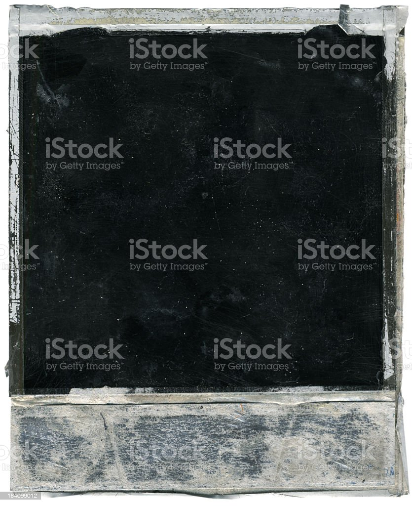 Grunge Instant Film Background royalty-free stock photo