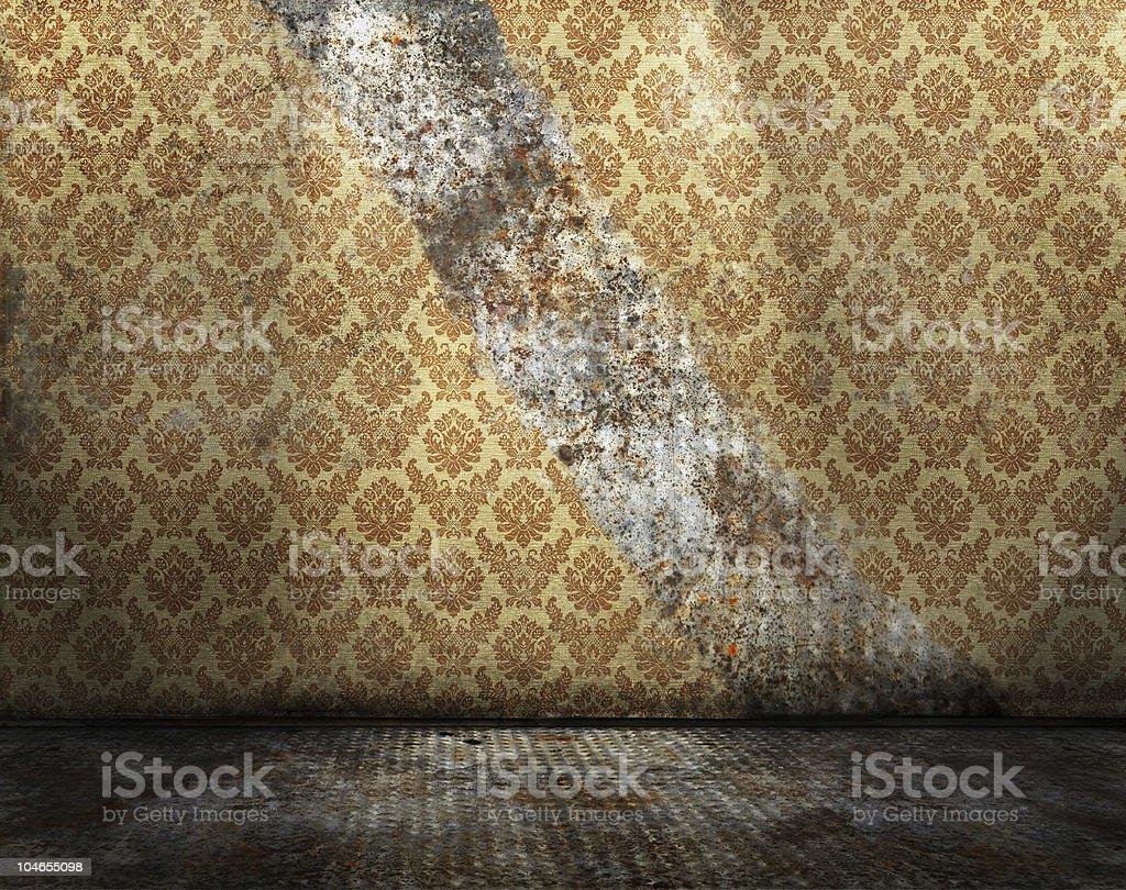Grunge interior royalty-free stock photo