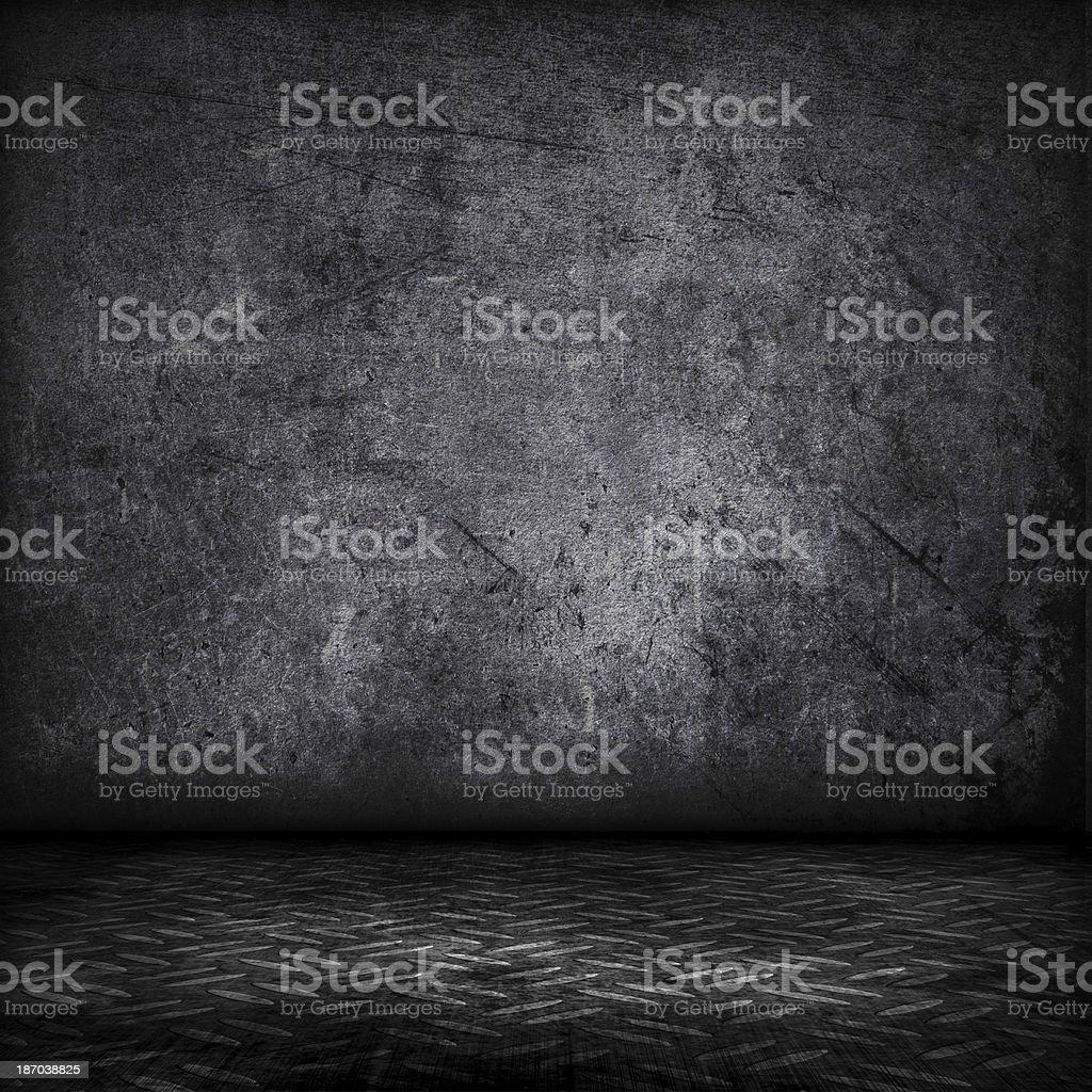 Grunge interior stock photo