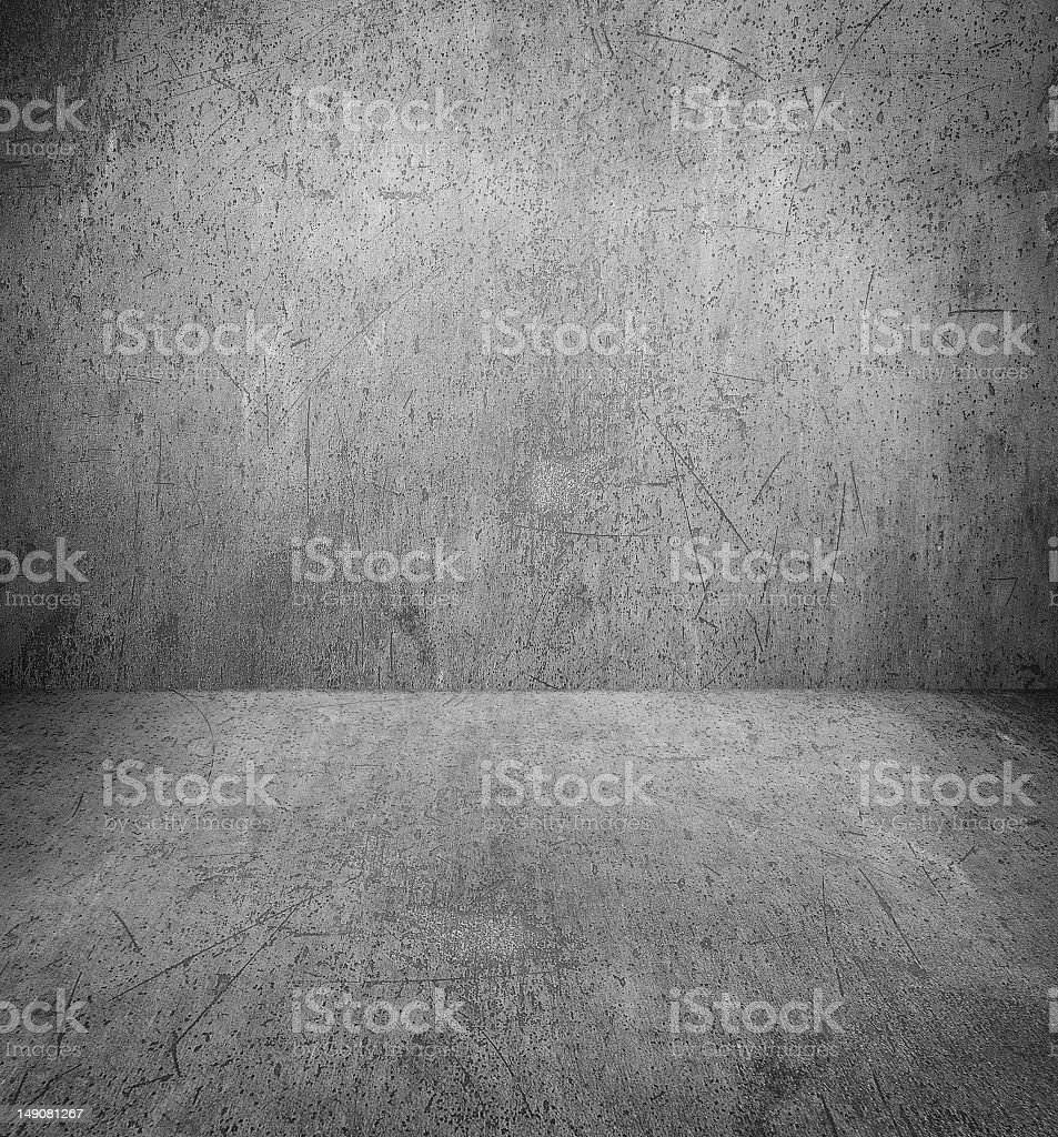grunge interior with copy-space royalty-free stock photo
