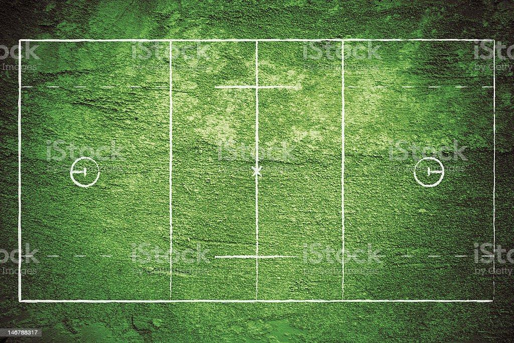 Grunge Lacrosse Field stock photo