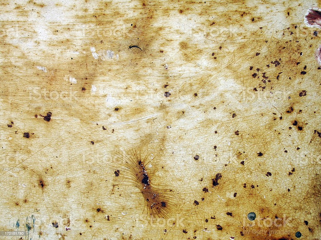 grunge layer rusted metal with crackling background royalty-free stock photo