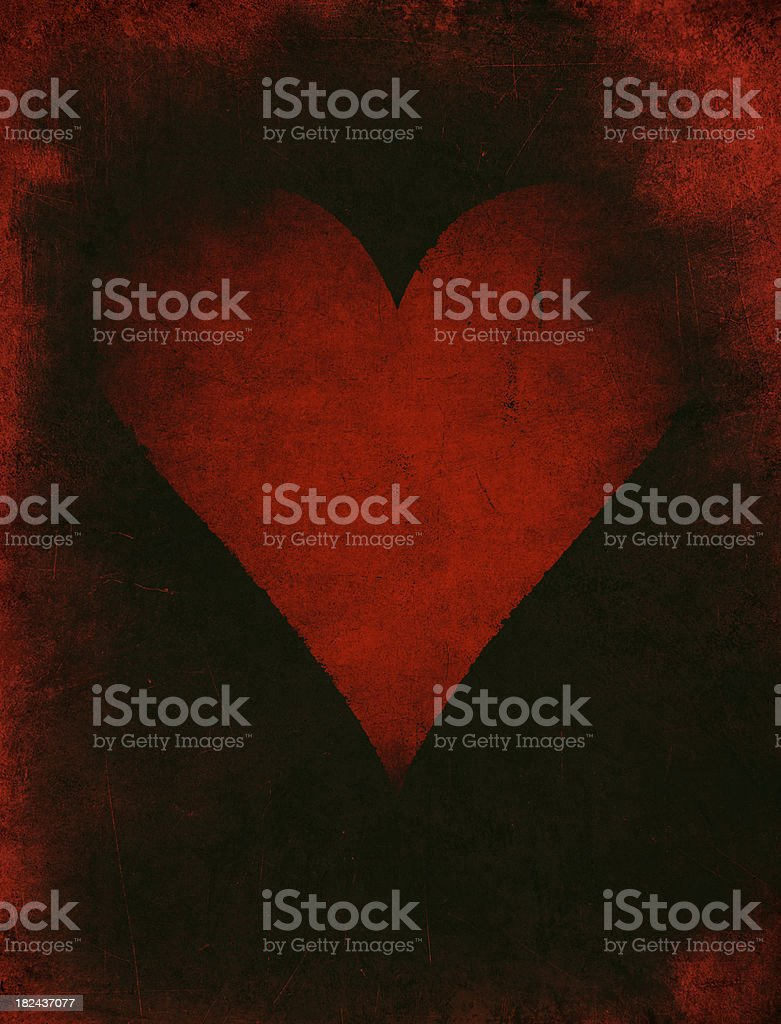 grunge love royalty-free stock photo