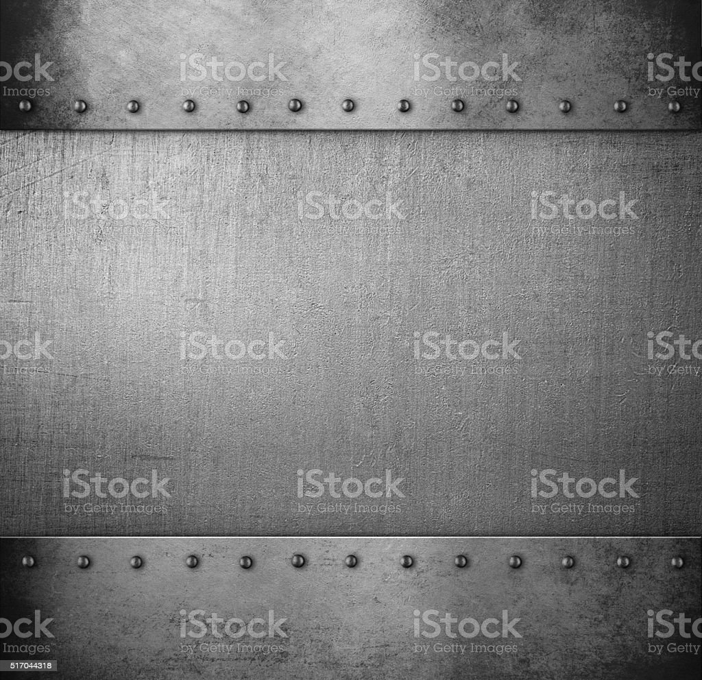 grunge metal armour stock photo