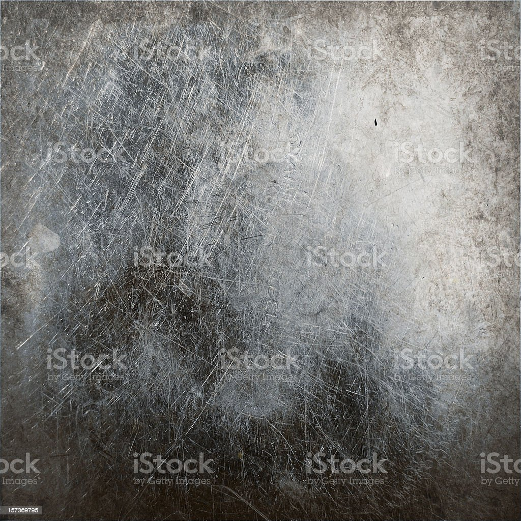 grunge metal background with stain and scratches royalty-free stock photo