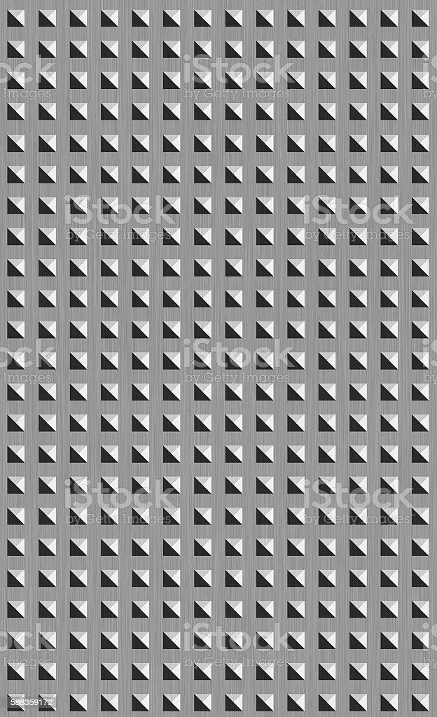 grunge metal grid background stock photo