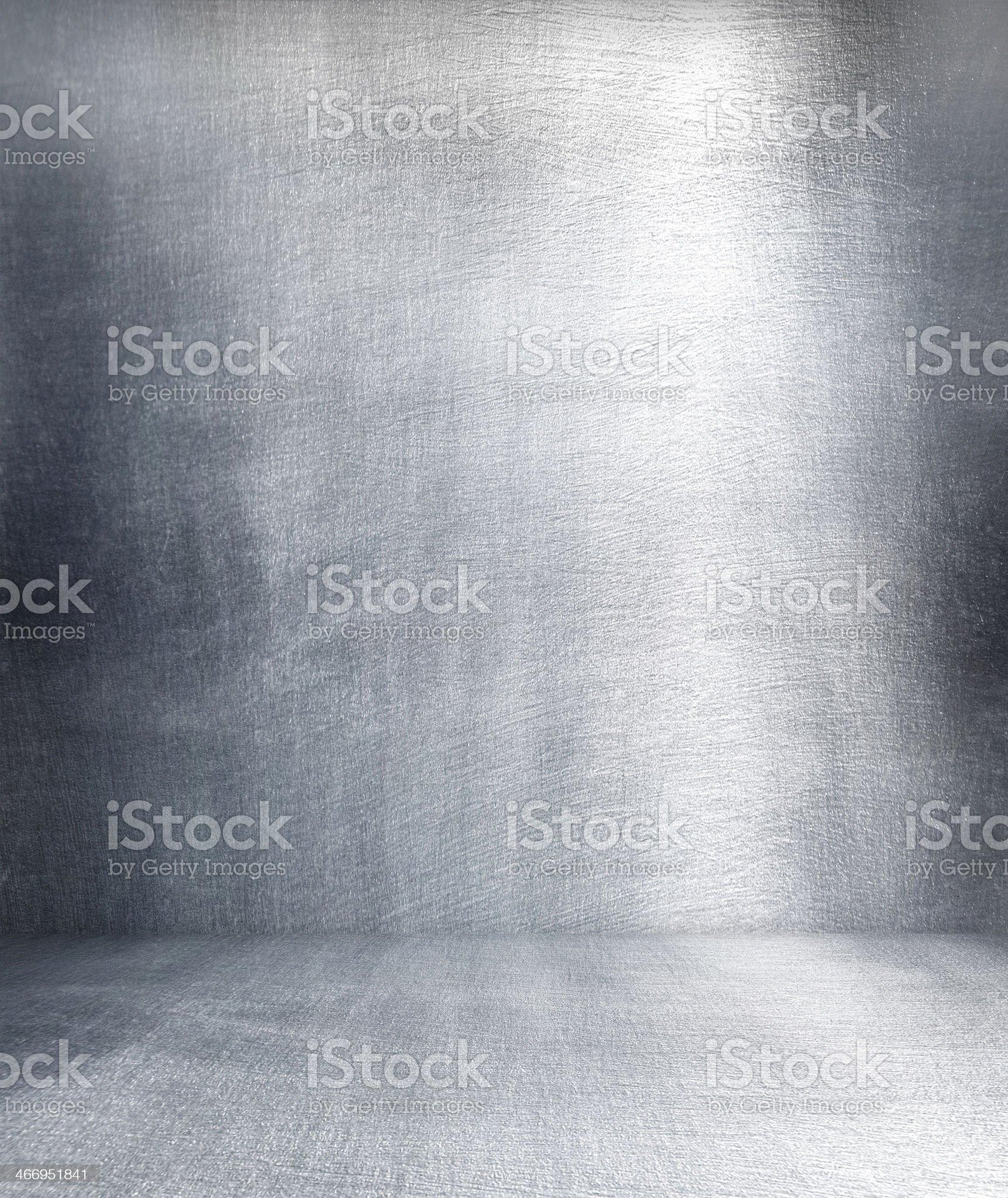 Grunge metal interior. royalty-free stock photo
