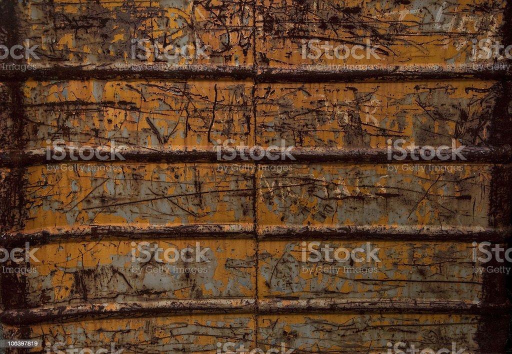 Grunge Metal Ribbed royalty-free stock photo