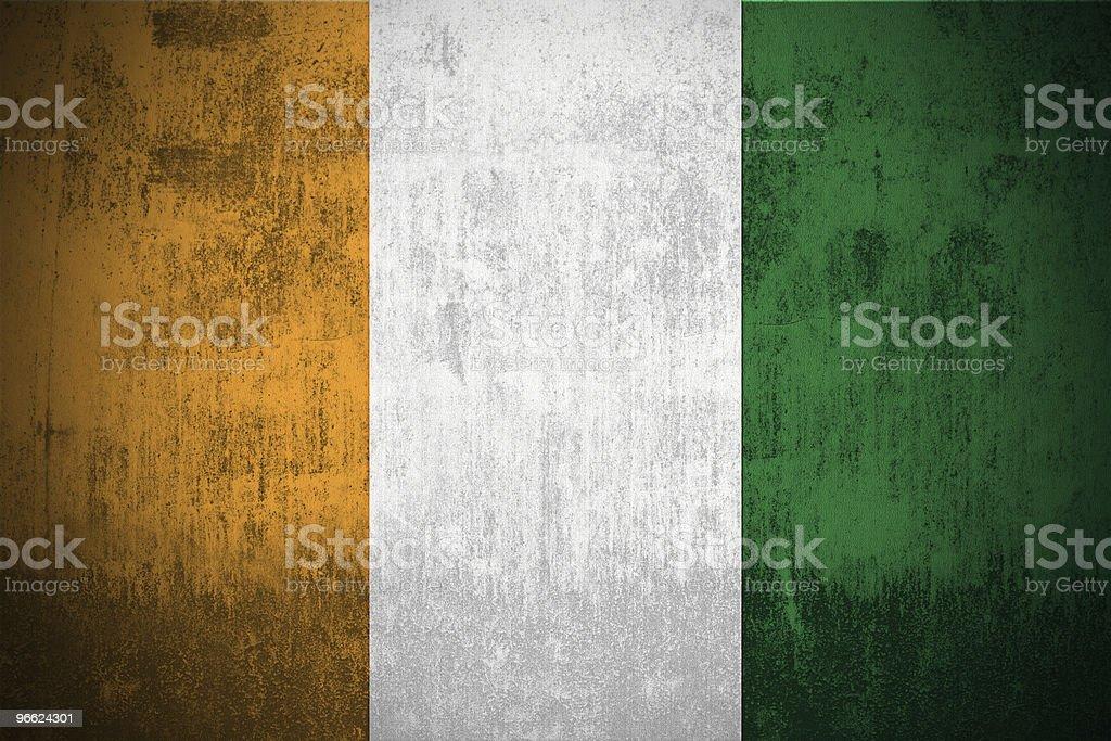 Grunge Of Ireland royalty-free stock photo