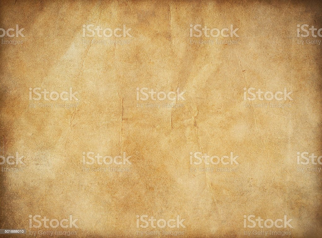 grunge old paper for treasure map or vintage letter stock photo