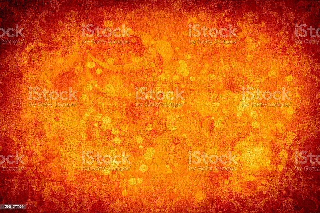 Grunge Orange Abtract Background stock photo