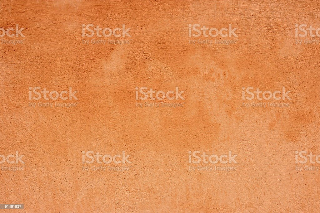 Grunge orange wall royalty-free stock photo