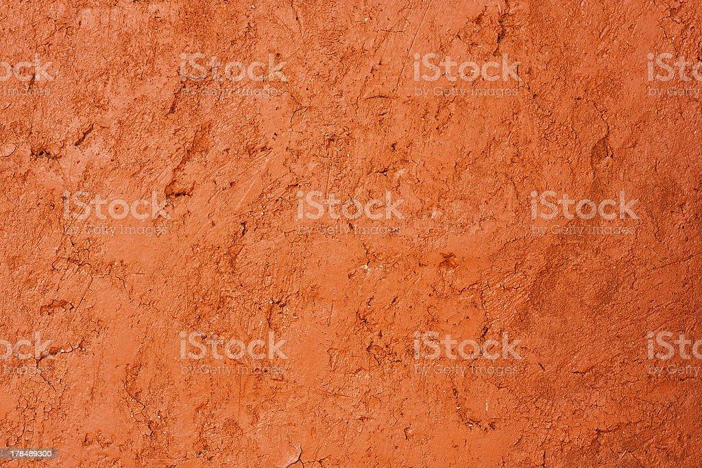 Grunge orange wall used background royalty-free stock photo