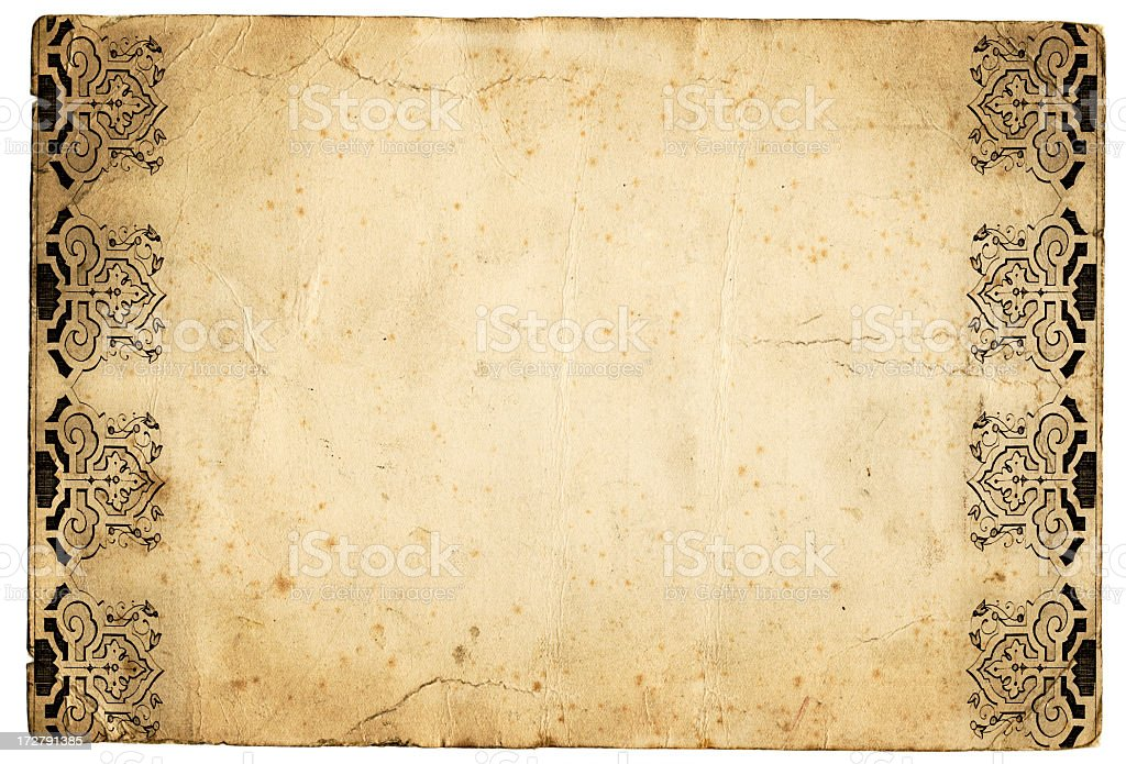Grunge paper royalty-free stock photo