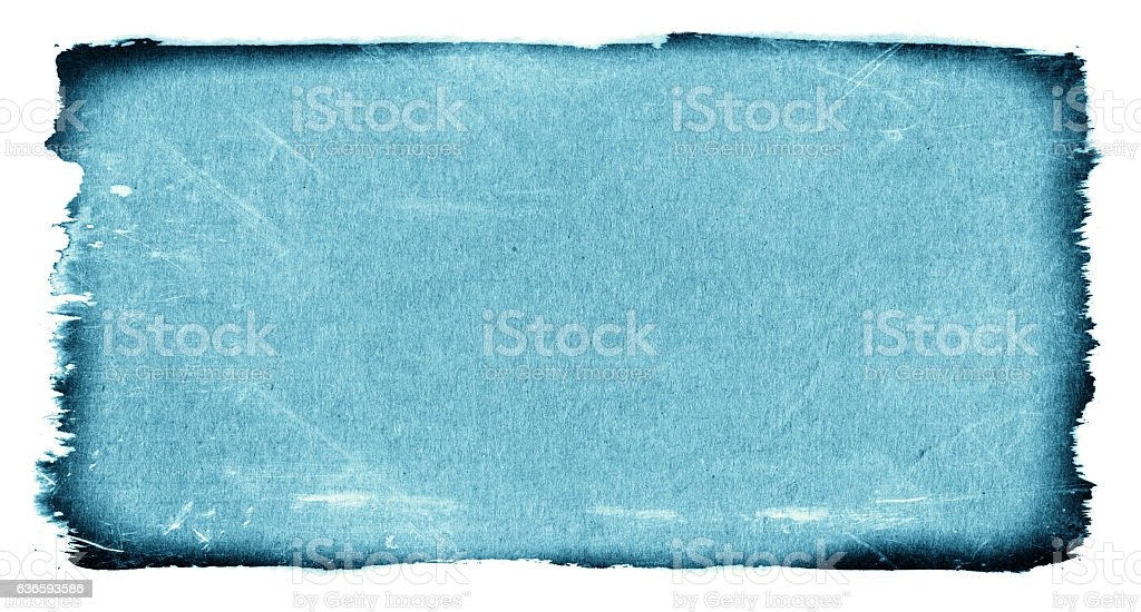 Grunge paper textured isolated on white background stock photo