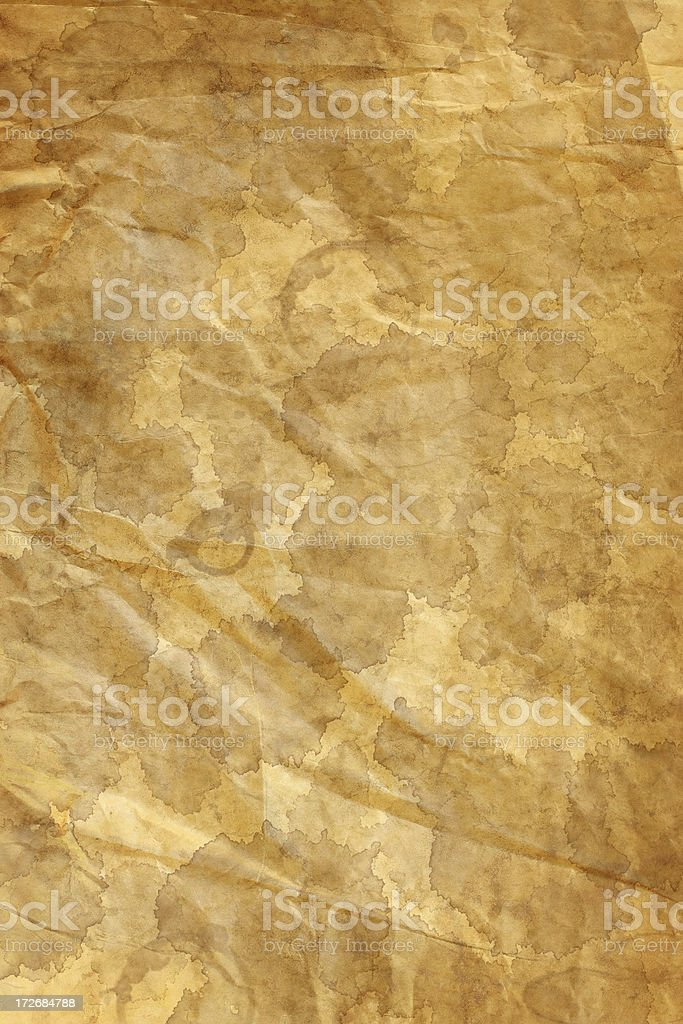 grunge parchment stain background wallpaper royalty-free stock photo