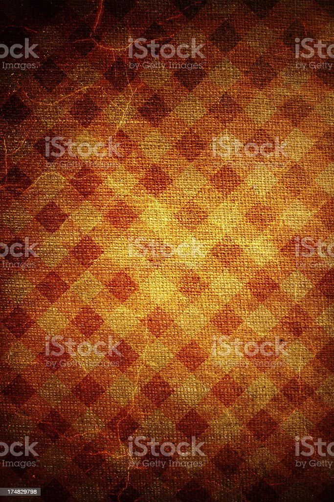 Grunge patterned canvas royalty-free stock photo