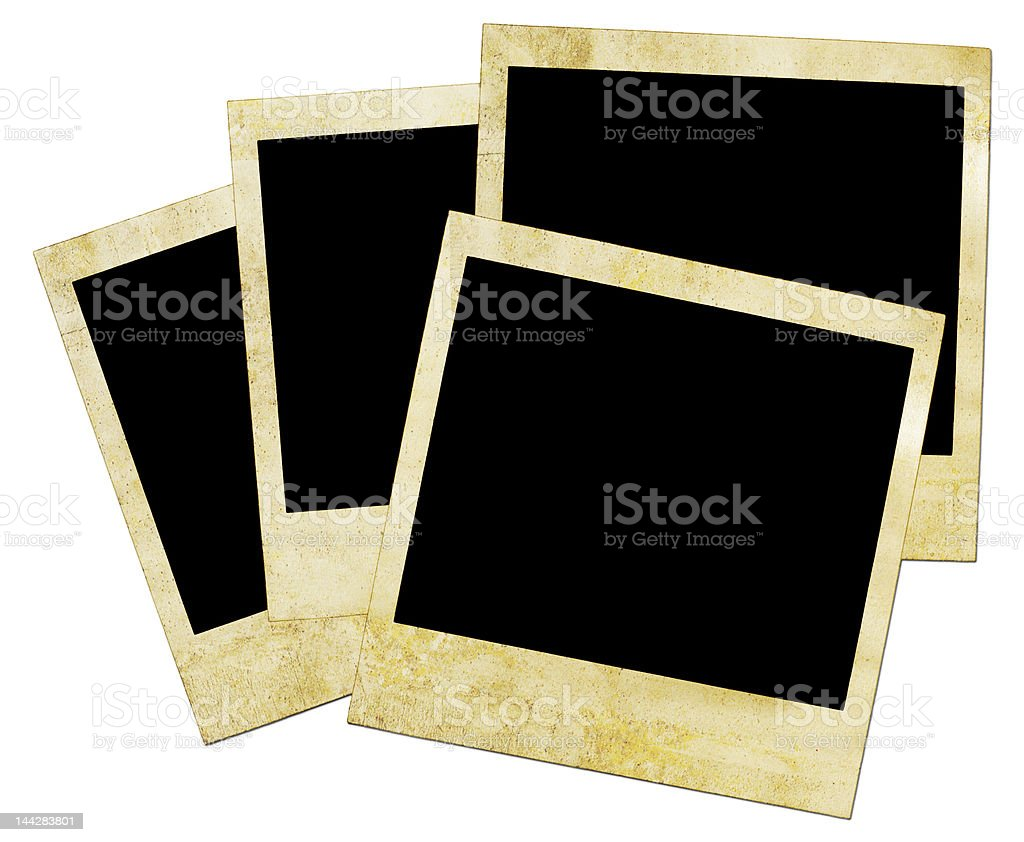 Grunge Photo Frame royalty-free stock photo