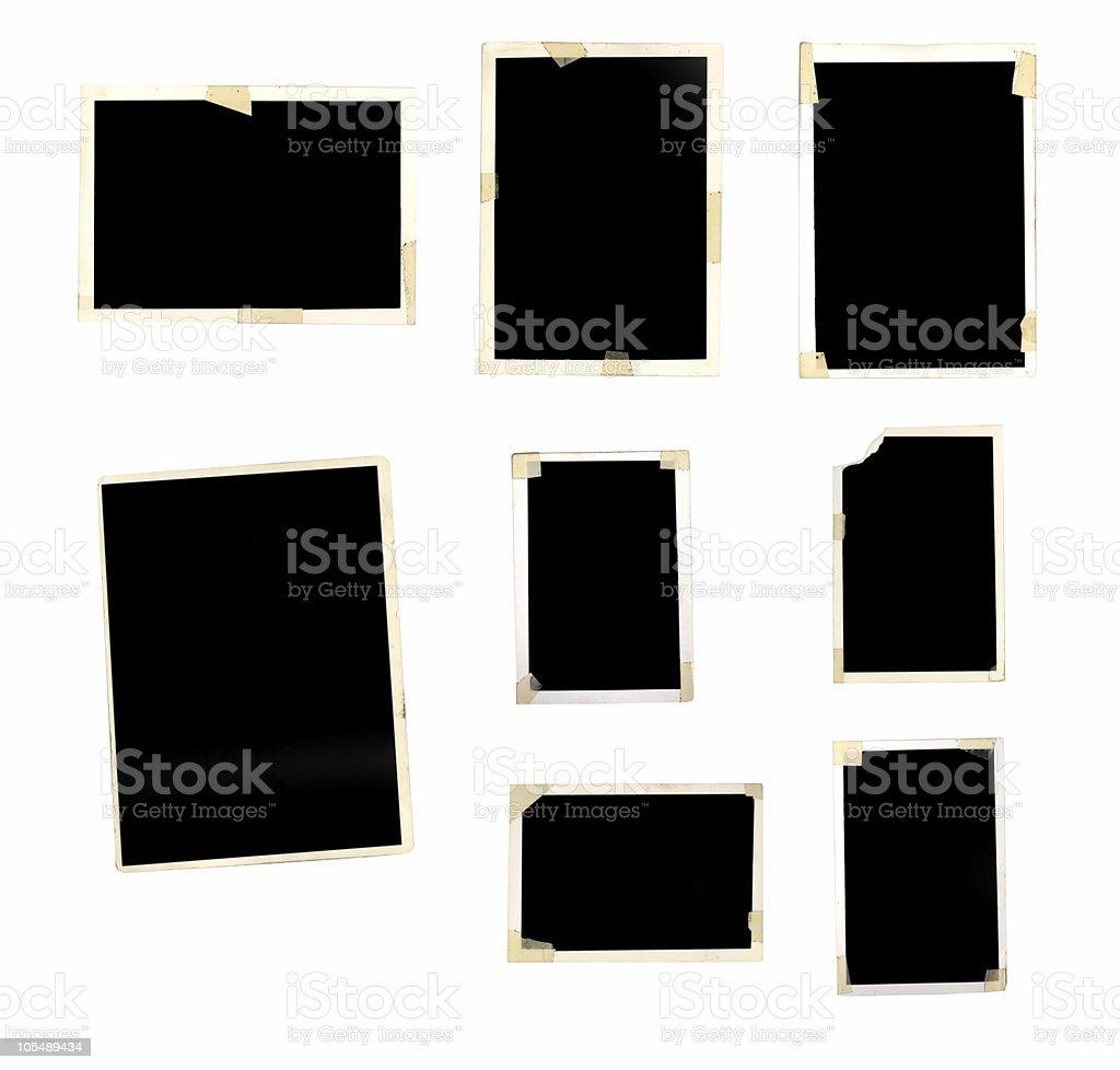 Grunge Photo Frames stock photo