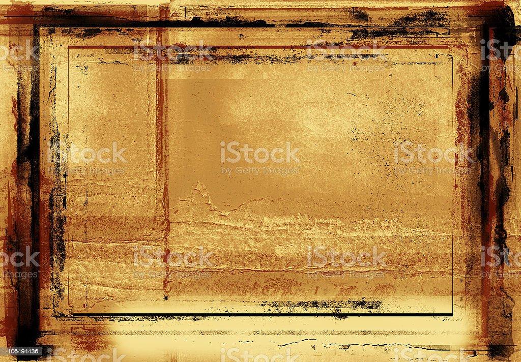 grunge photographic border royalty-free stock photo