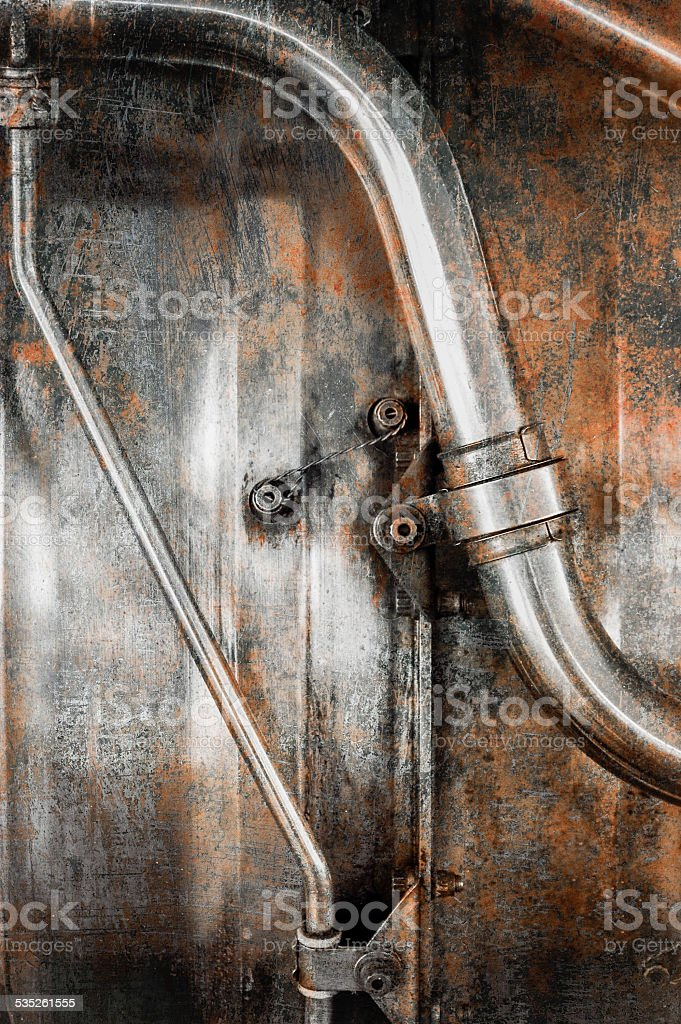 grunge pipes stock photo