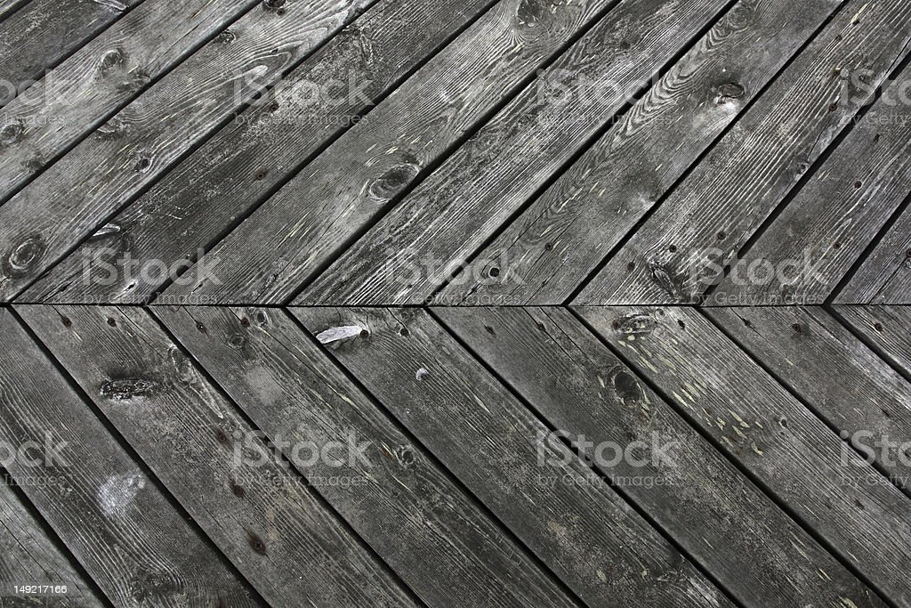 Grunge planks royalty-free stock photo