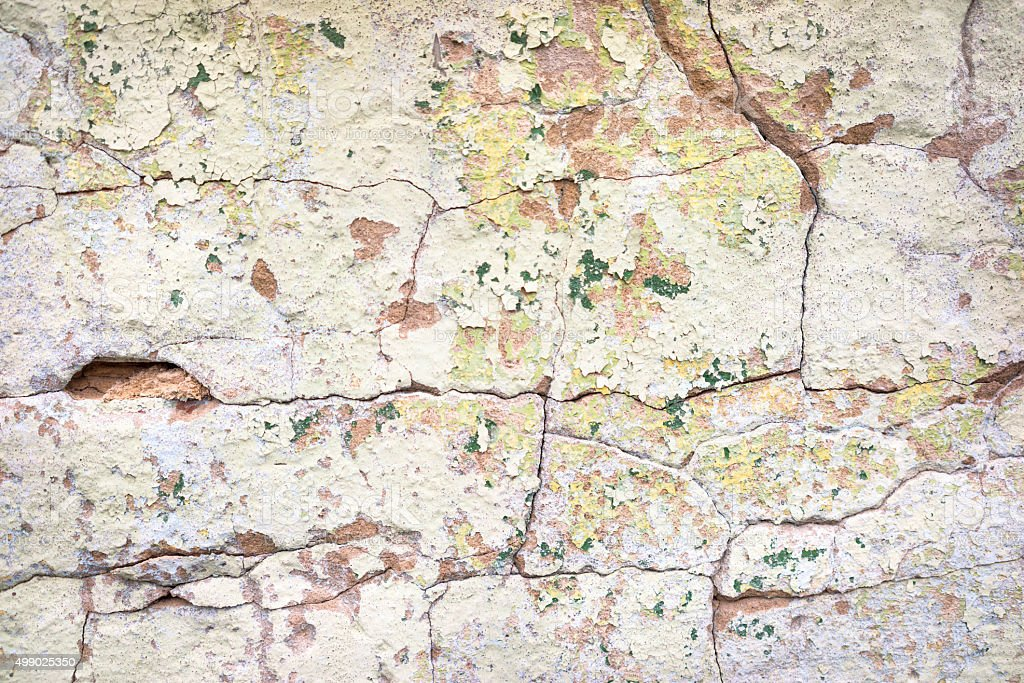 Grunge plastered wall background stock photo