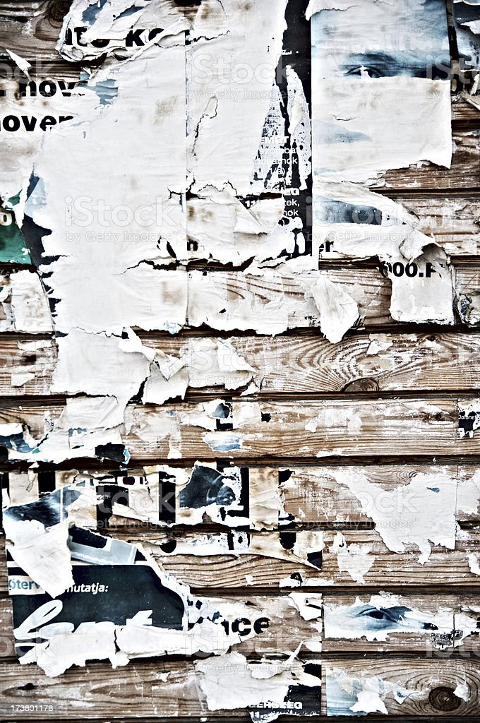 Grunge Poster Texture royalty-free stock photo