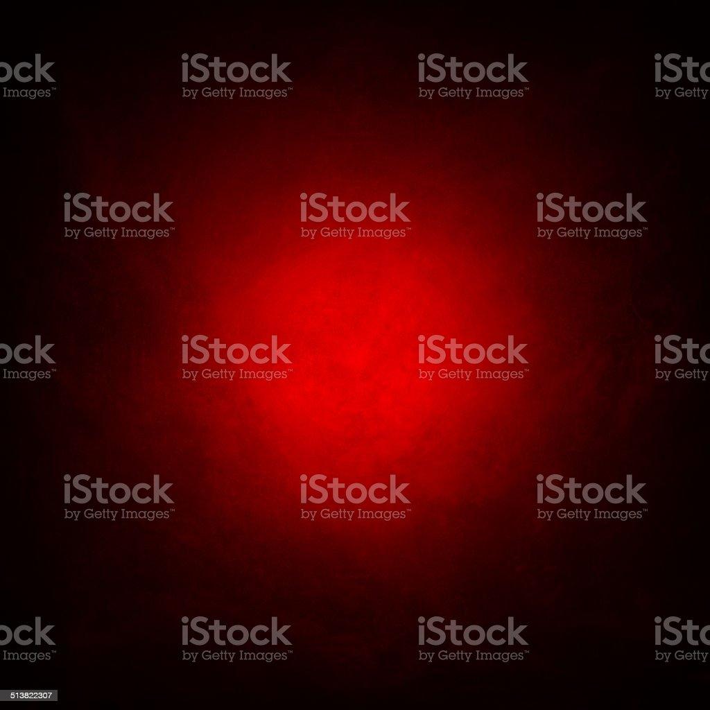 Grunge red background, vignetting corners, light center stock photo