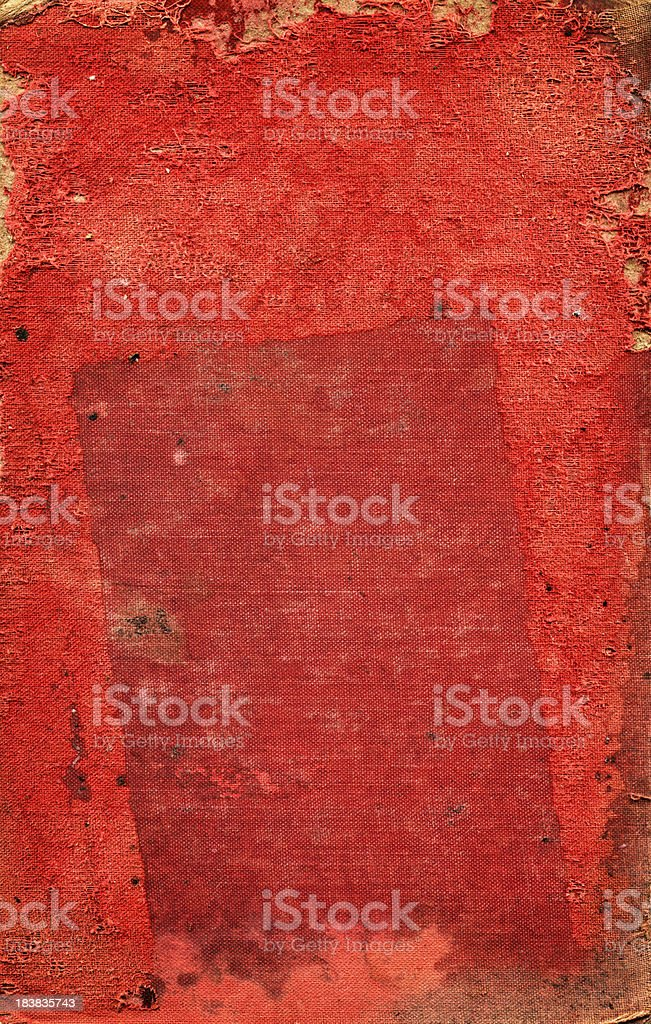 grunge red book cover stock photo