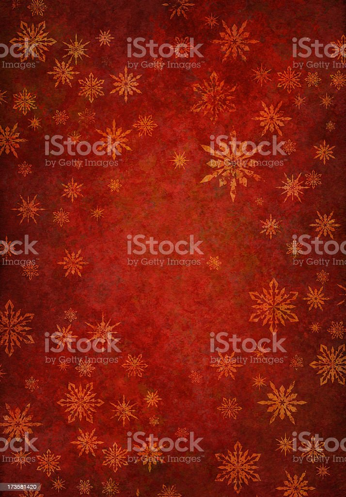 grunge red snowy background stock photo