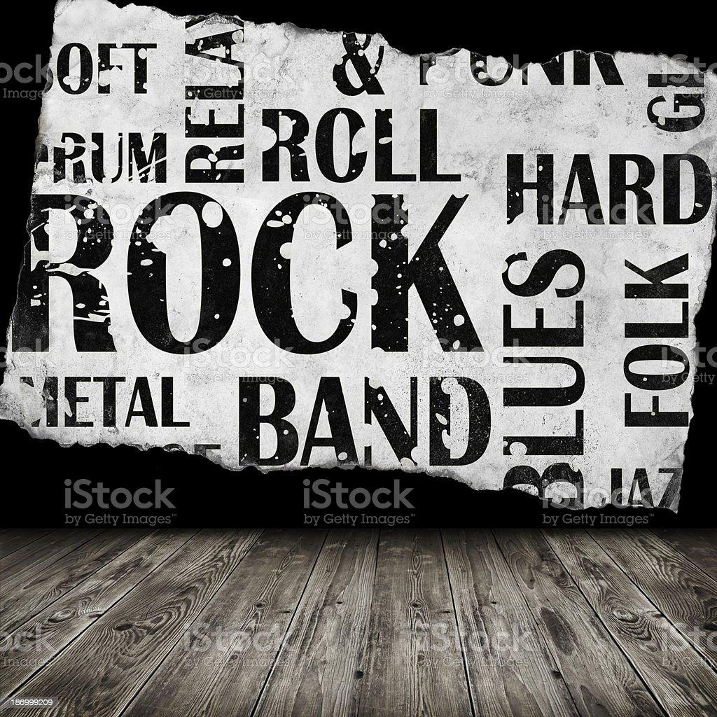 Grunge room royalty-free stock photo