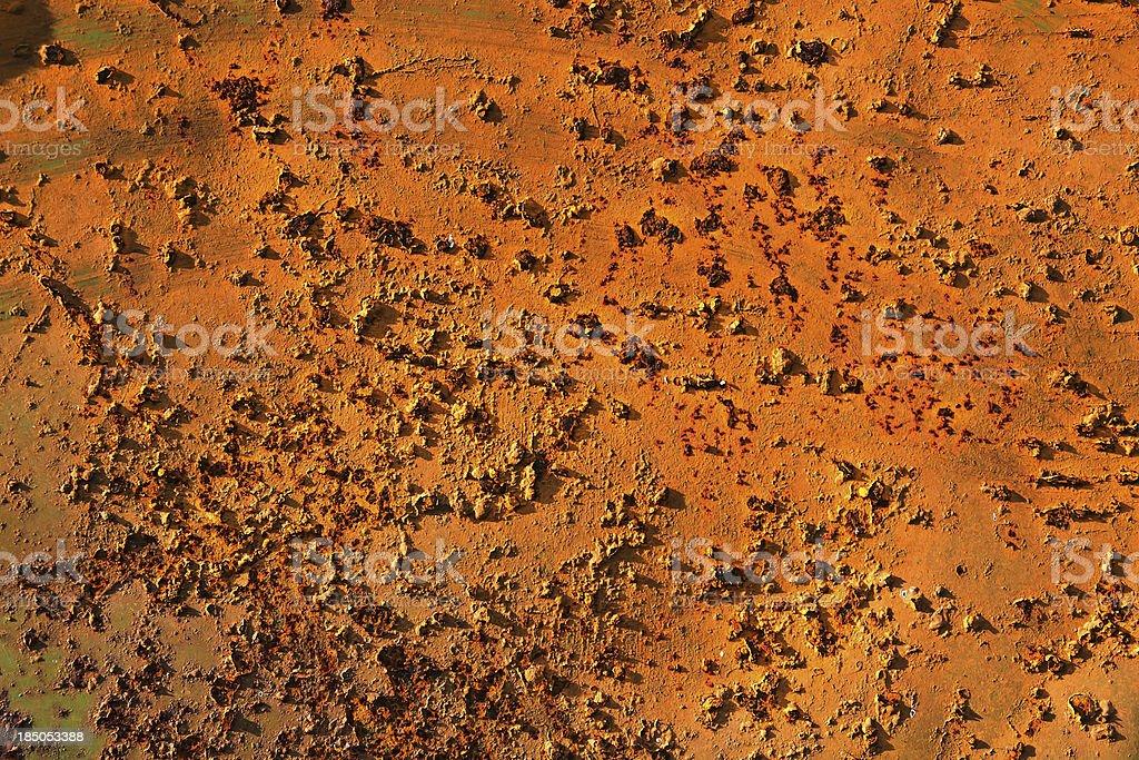 Grunge rust metal plate royalty-free stock photo