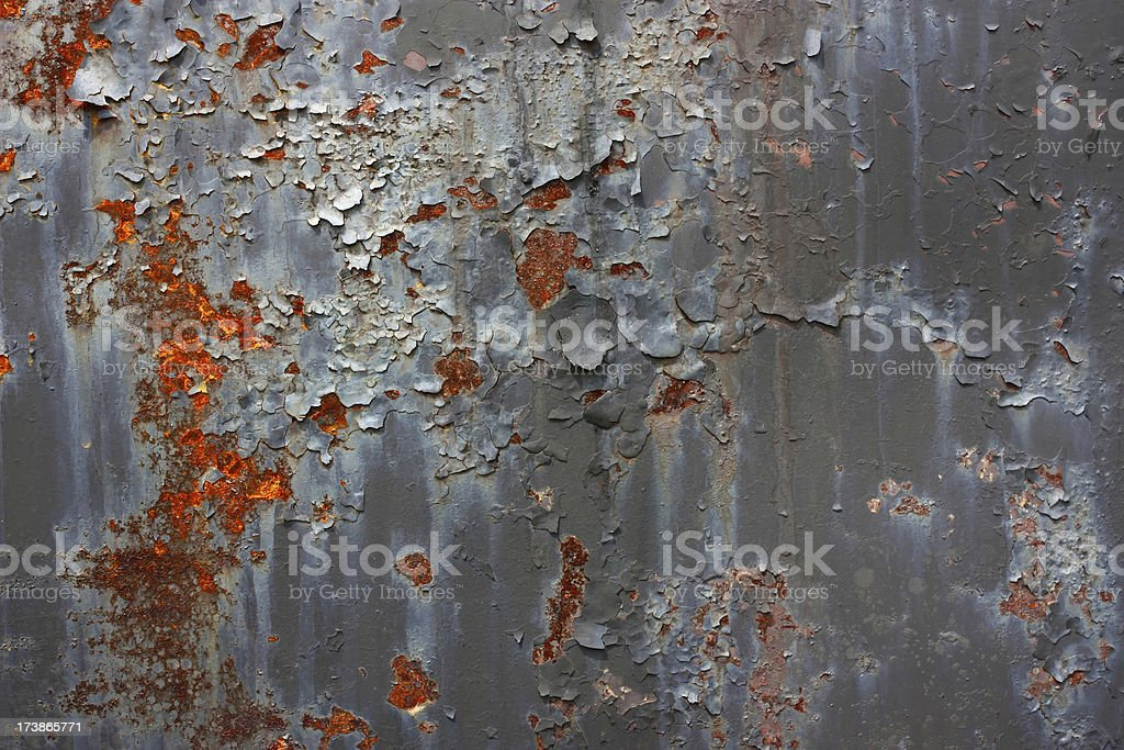 Grunge Rust peeling background wallpaper royalty-free stock photo