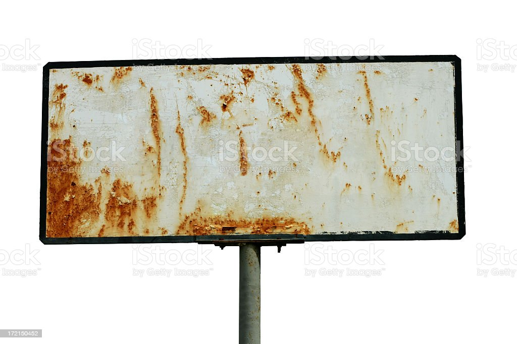 Grunge Rust stock photo