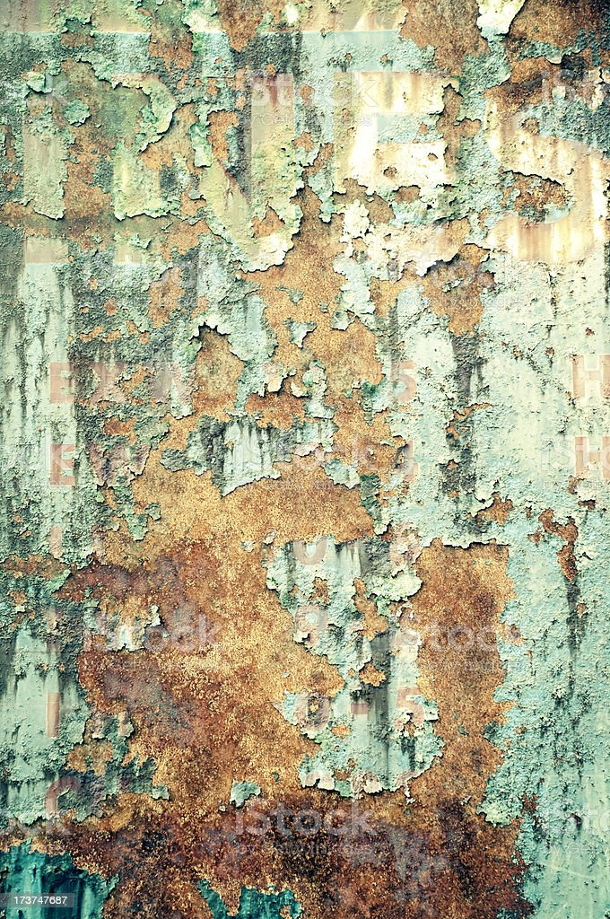 Grunge Rust Texture royalty-free stock photo