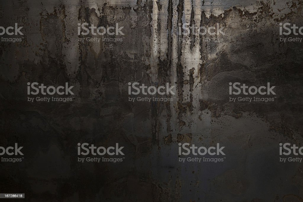Grunge rusty metal background royalty-free stock photo