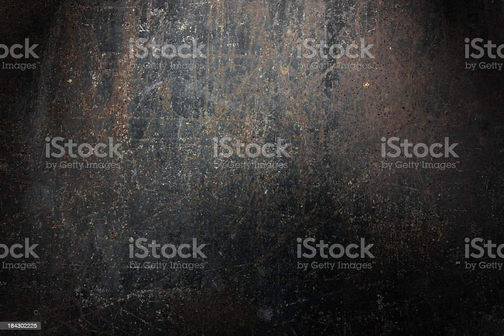 Grunge rusty metal background. royalty-free stock photo