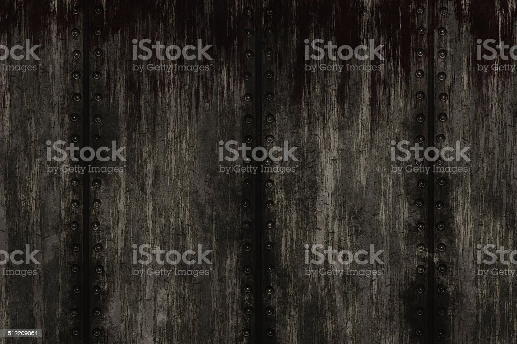 Grunge Rusty Metal stock photo