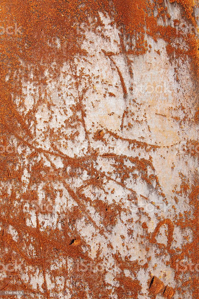 Grunge rusty metal texture royalty-free stock photo