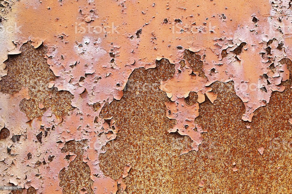 Grunge rusty metal wall texture royalty-free stock photo