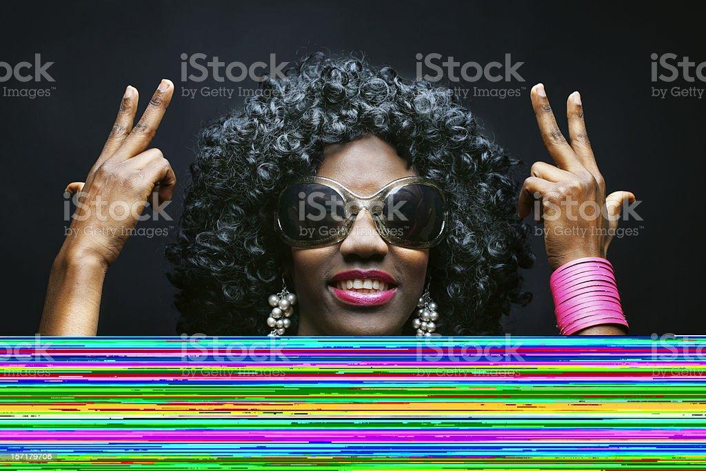 Grunge score royalty-free stock photo