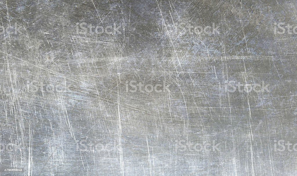 Grunge shiny metallic texture stock photo