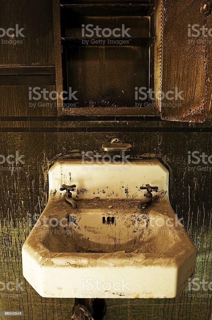 Grunge Sink royalty-free stock photo