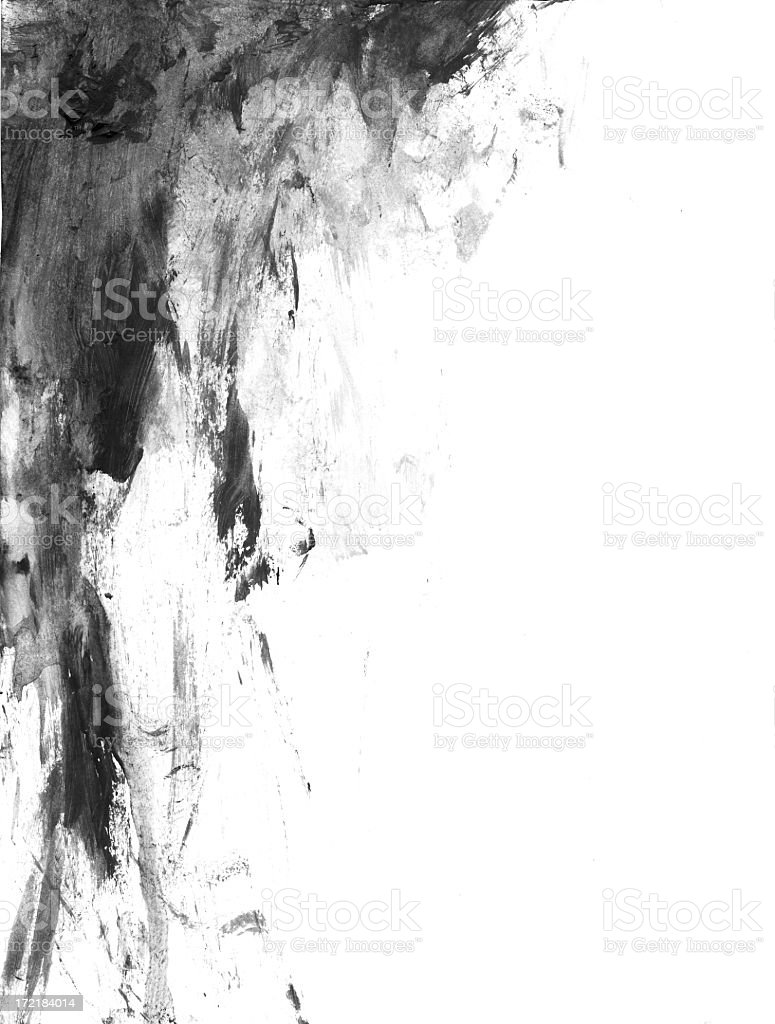 Grunge smear stock photo