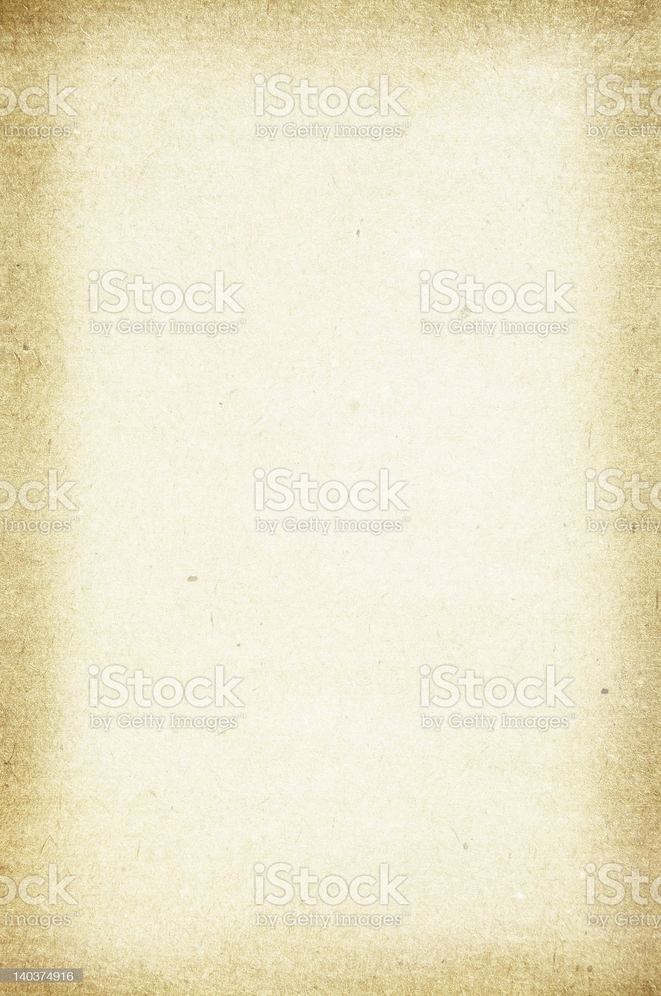 Grunge soft paper with dark borders royalty-free stock photo