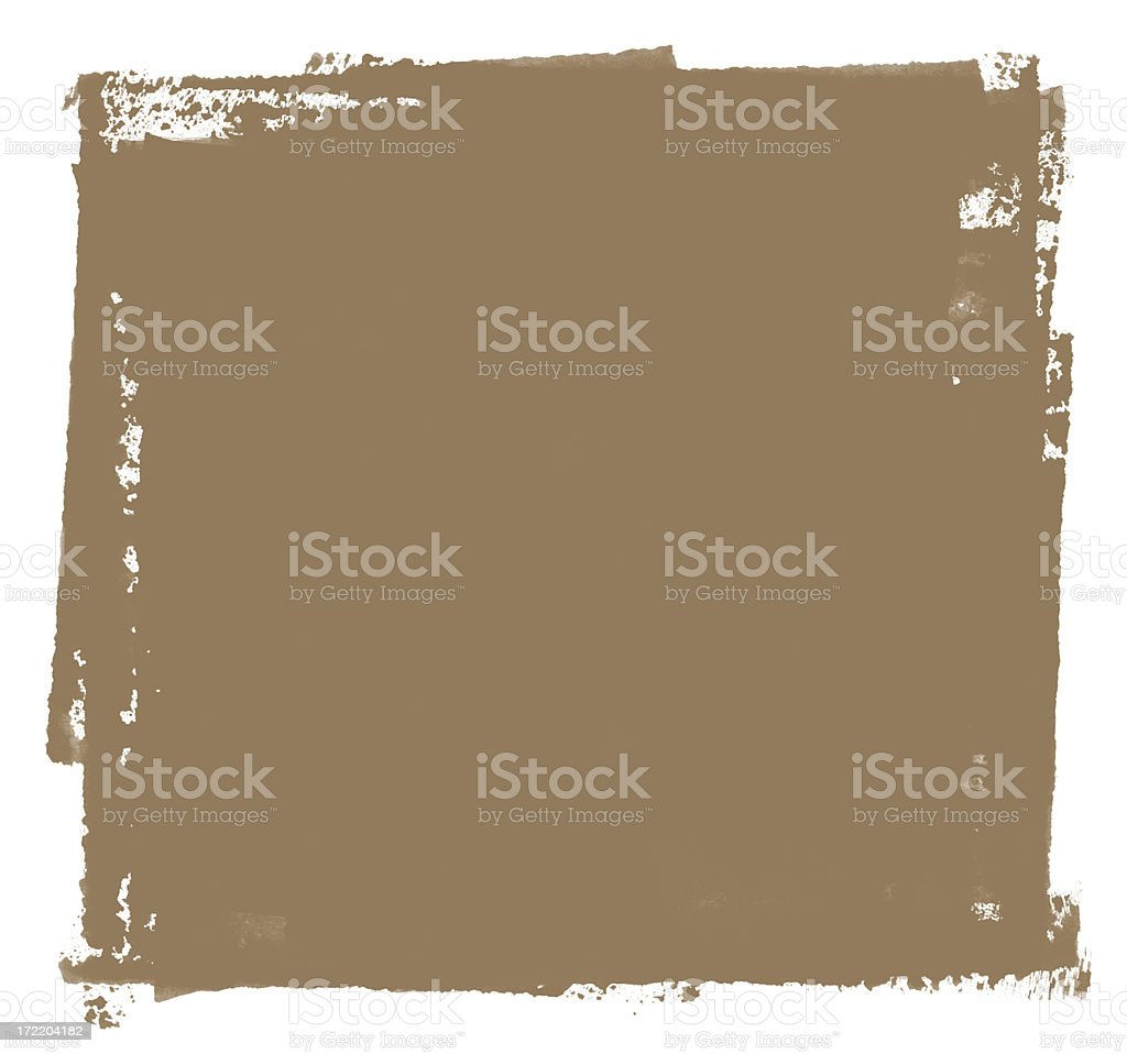 Grunge Square royalty-free stock photo
