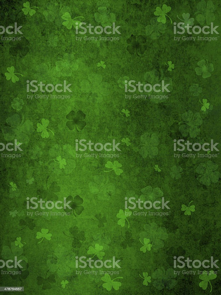 grunge st. patrick day background stock photo