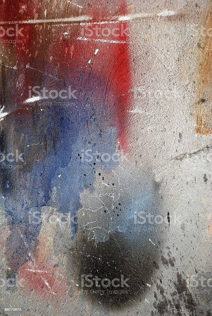Grunge stained multicolored Background royalty-free stock photo