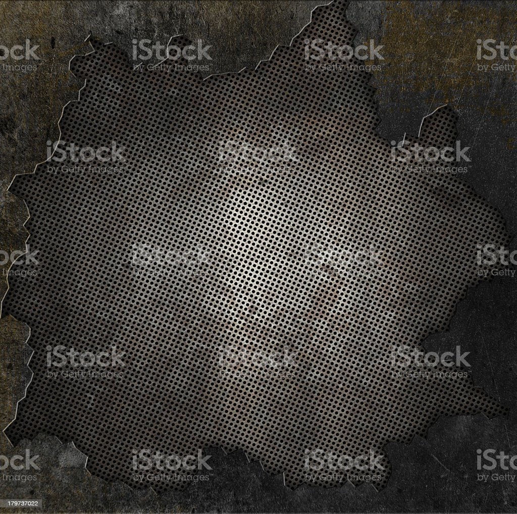 Grunge stone and rusty metal background royalty-free stock photo